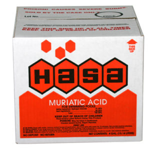 HASA 2x1 Muriatic Acid Disposable Case