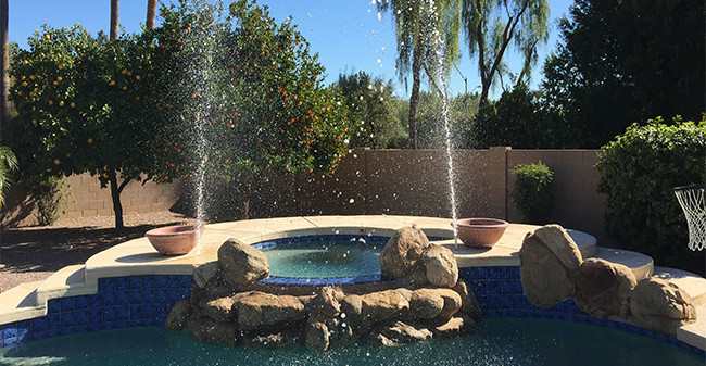 3 Reasons To Get a Water Feature In Your Inground Swimming Pool