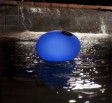 Solar Color Changing Globe Chlorinator Blue