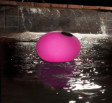 Solar Color Changing Globe Chlorinator Pink