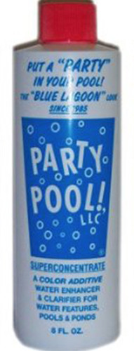 Blue Lagoon Party Pool Color Additive