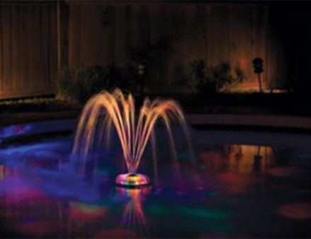 Game underwater light show and fountain for Pool light show waikiki