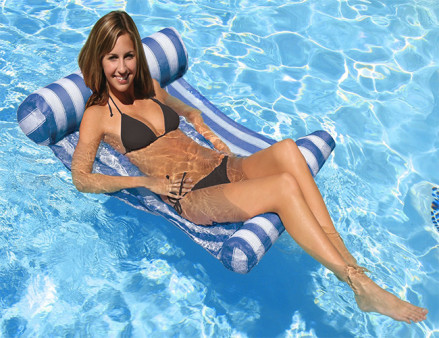 Poolmaster Water Hammock Blue