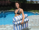 Poolmaster Water Hammock Blue Image 3