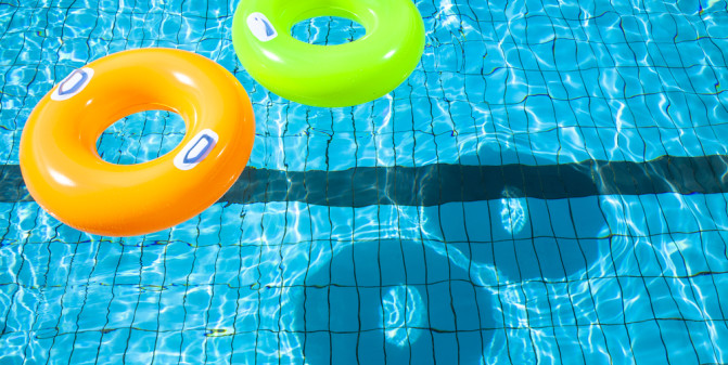 Pool Toys That Double as Muscle Builders