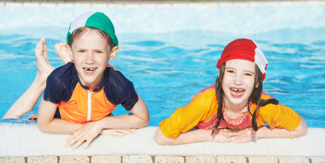 Turn Your Swimming Pool Into a Water Game Zone